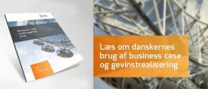 brochure med business case undersøgelse