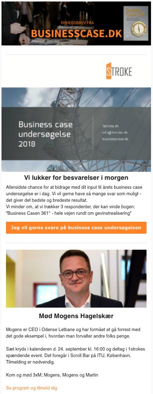forside nyhedsbrev om business cases