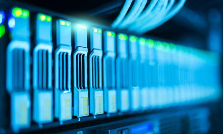 teknologi, datacenter