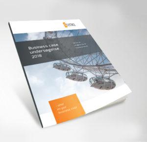 Forside af business case undersøgelses rapport