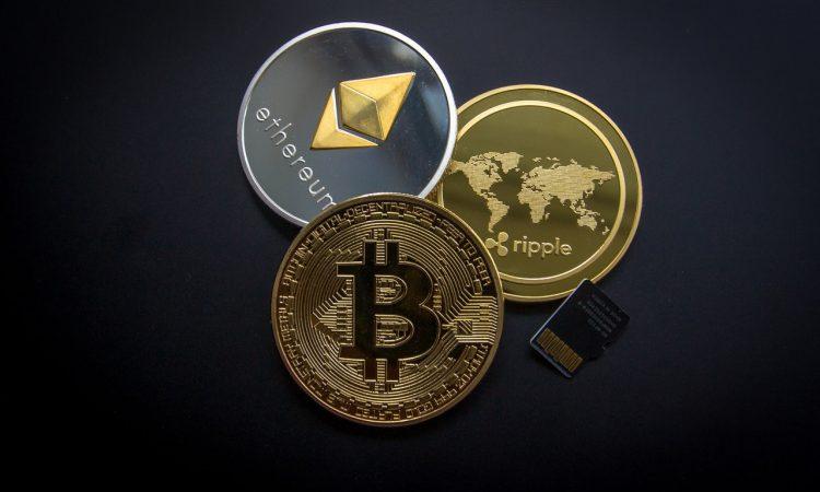 Møntformer af cryptovaluta