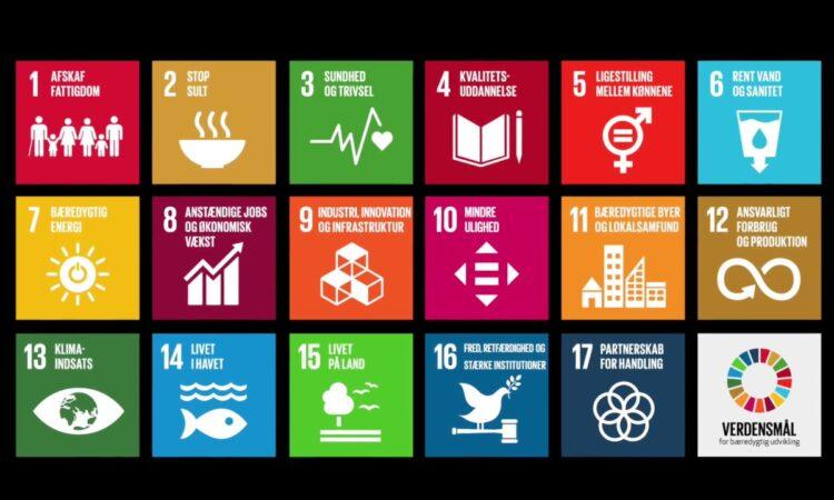 Verdensmål for bæredygtig udvikling